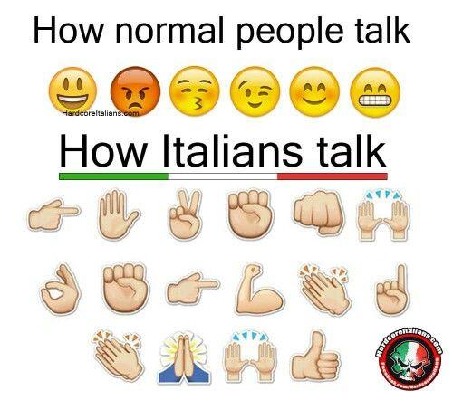 Very, very true. I talk with my hands. | Italian humor, Italian ...