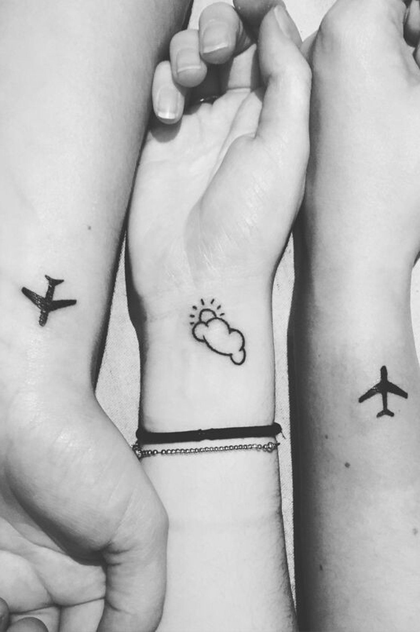 30 Free And Simple Small Tattoo Ideas For The Minimalist Cool Wrist Tattoos Wrist Tattoos For Women Cloud Tattoo