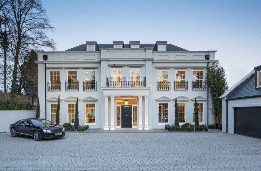 Exceptional The Mount   A 12,000 Square Foot Newly Built Mansion In Surrey, England