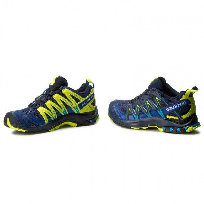 Παπούτσια SALOMON - Xa Pro 3D 392518 28 W0 Blue Depths/Navy Blazer/Lime