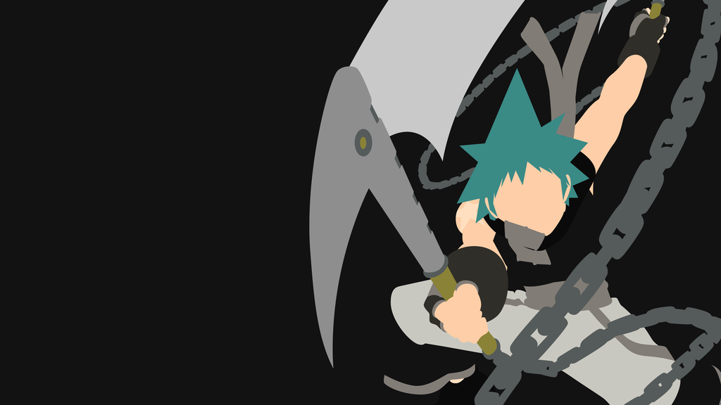Black Star From Soul Eater Minimalist Soul Eater Anime Anime Wallpaper