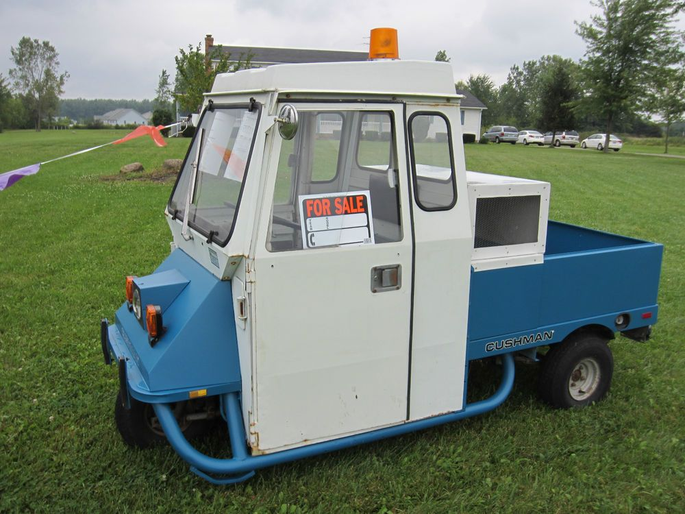 Cushman 94807 Concession Stand Food Vehicle And Cars