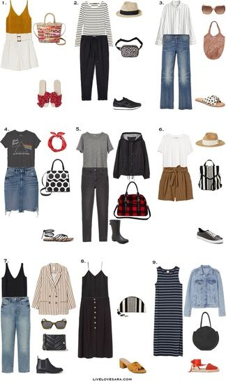 Spring and summer outfit ideas for under $35. Style on a budget. Budget  outfit ideas. How to dress well on a budg… | Capsule wardrobe women, Fashion,  Budget outfits