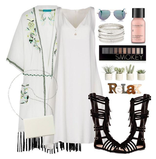 """""""Untitled #1609"""" by anarita11 ❤ liked on Polyvore featuring Matthew Williamson, CÉLINE, Top Guy, Nine West, Cutler and Gross, Charlotte Russe, Forever 21, Perricone MD, LC Lauren Conrad and Allstate Floral"""