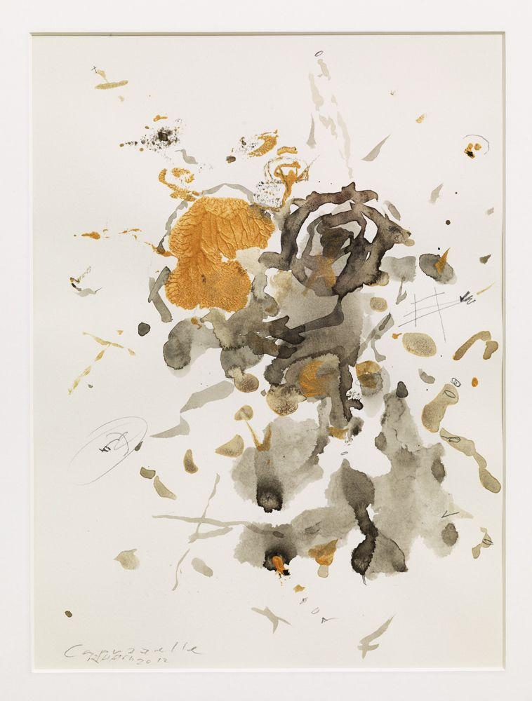 Capuzzelle , 2012 acrilico e inchiostro su carta (Acrylic