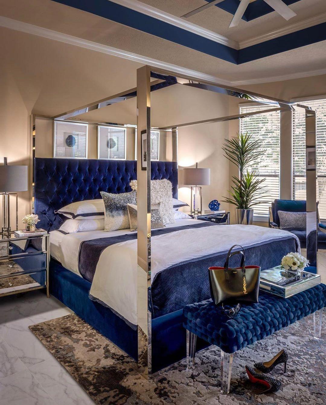 Home Design Ideas Instagram: Vicky On Instagram : Royal Blue Follow @ Home _ Decor