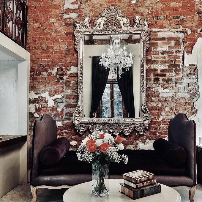 Traditional Beveled Full Length Mirror Beautiful Floor Mirror Full Length Mirror Art Deco Style Interior