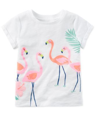 Personalise it for free Girls embroidered t-shirt Birdie