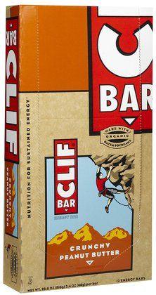 Clif Bar Energy Bar - Crunchy Peanut Butter - 2.4 oz - 12 ct