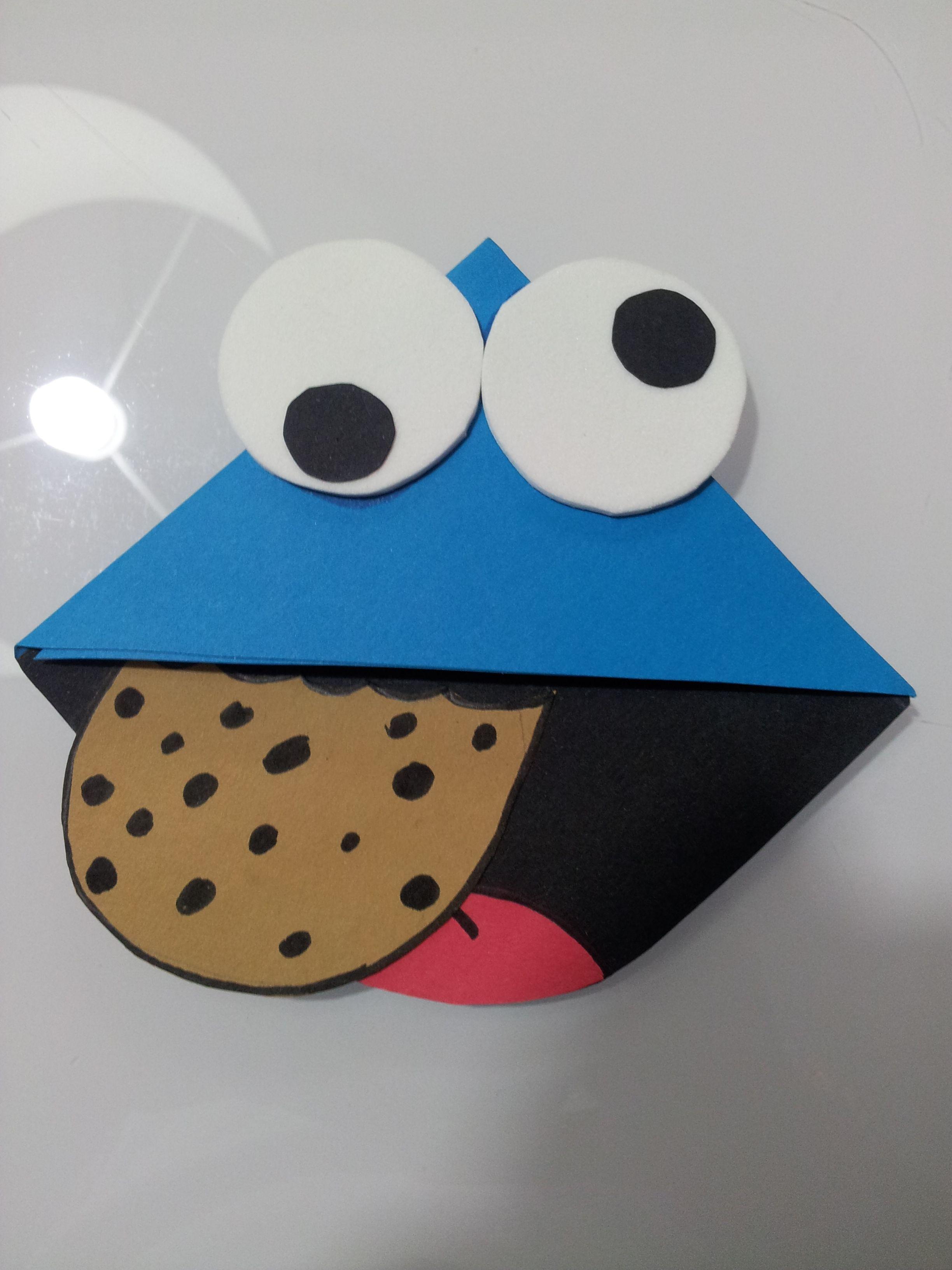 Monstruo de las galletas | Día del libro | Pinterest | Galleta ...
