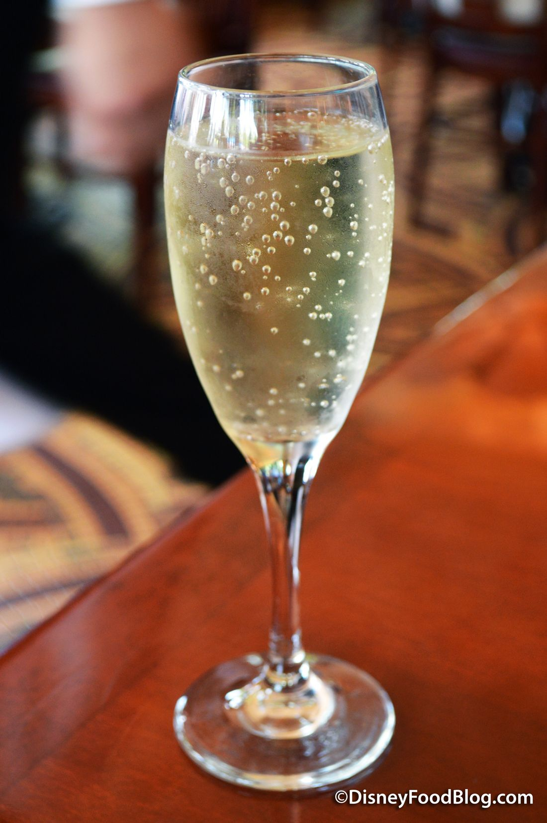 Glass Of Louis Perdrier Brut Sparkling Wine Disney Food Epcot Sparkling Wine