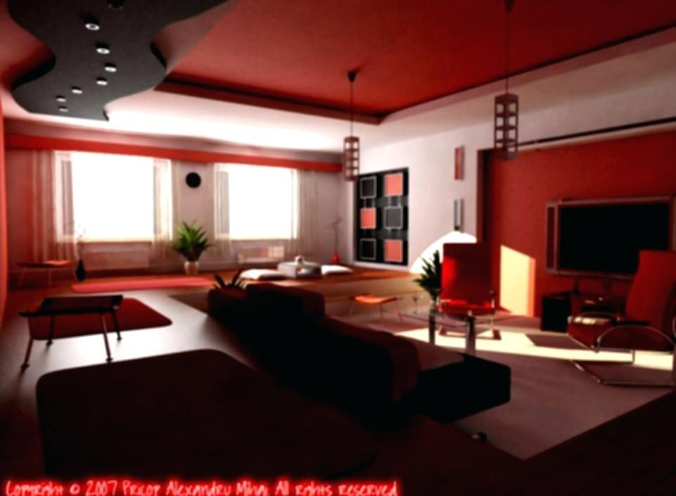 Black And Red Home Decor Plan Gallery Of Dream