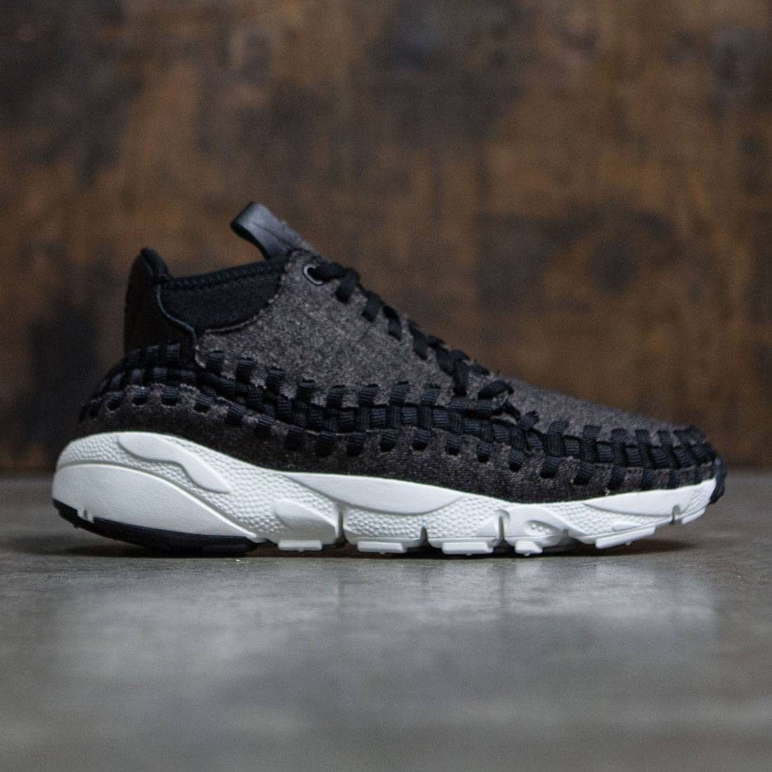 premium selection a34e2 195e2 Nike Men Air Footscape Woven Chukka Se (black   black-ivory)