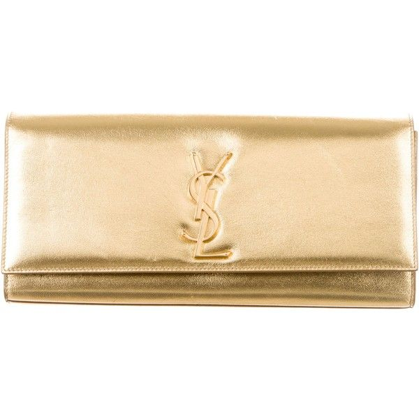 Saint Laurent Pre-owned - Beige Leather Clutch bag UMybZeuNWZ