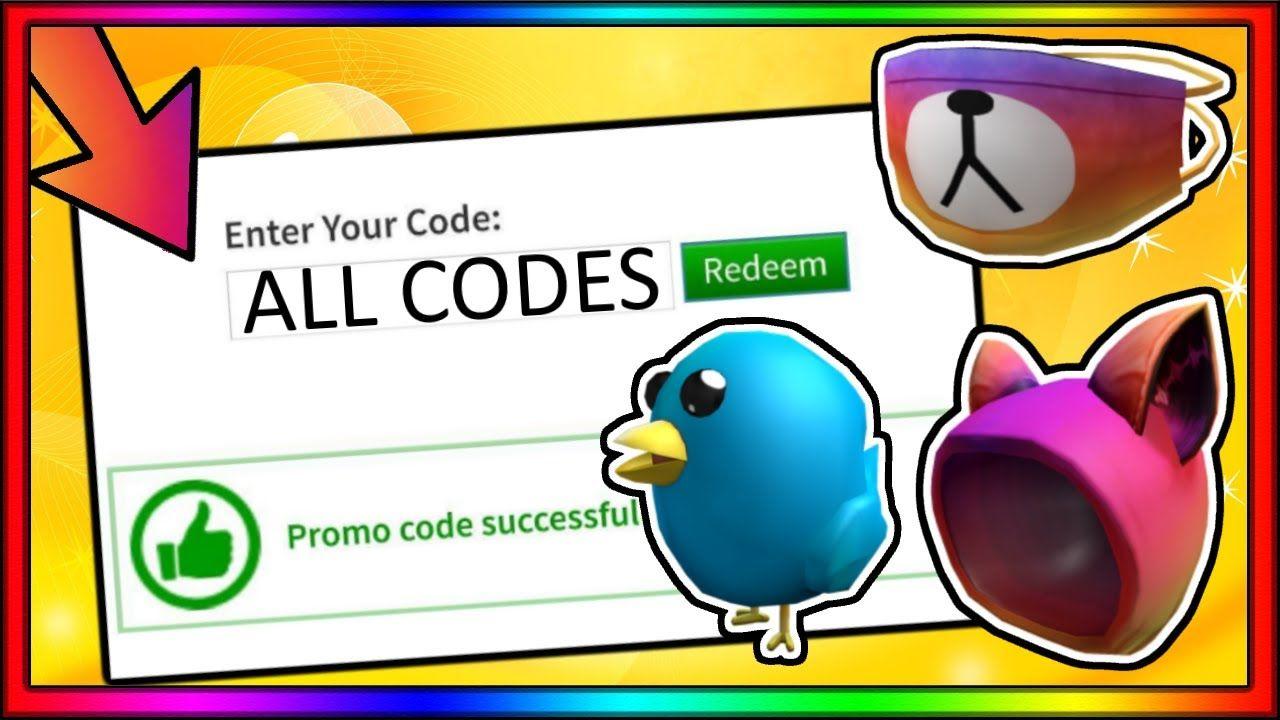Codes Promo Roblox All Roblox Promo Codes 2020 In 2020 Promo Codes Coding Instagram Code