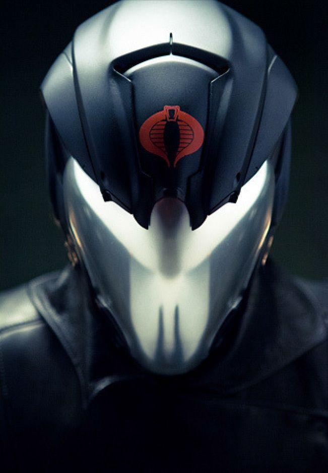 Cobra Commander Mask