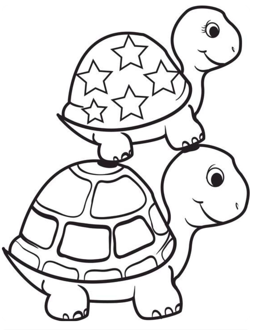 Pin By Lynn O Hara On Young Ones Turtle Coloring Pages Animal Coloring Pages Frog Coloring Pages