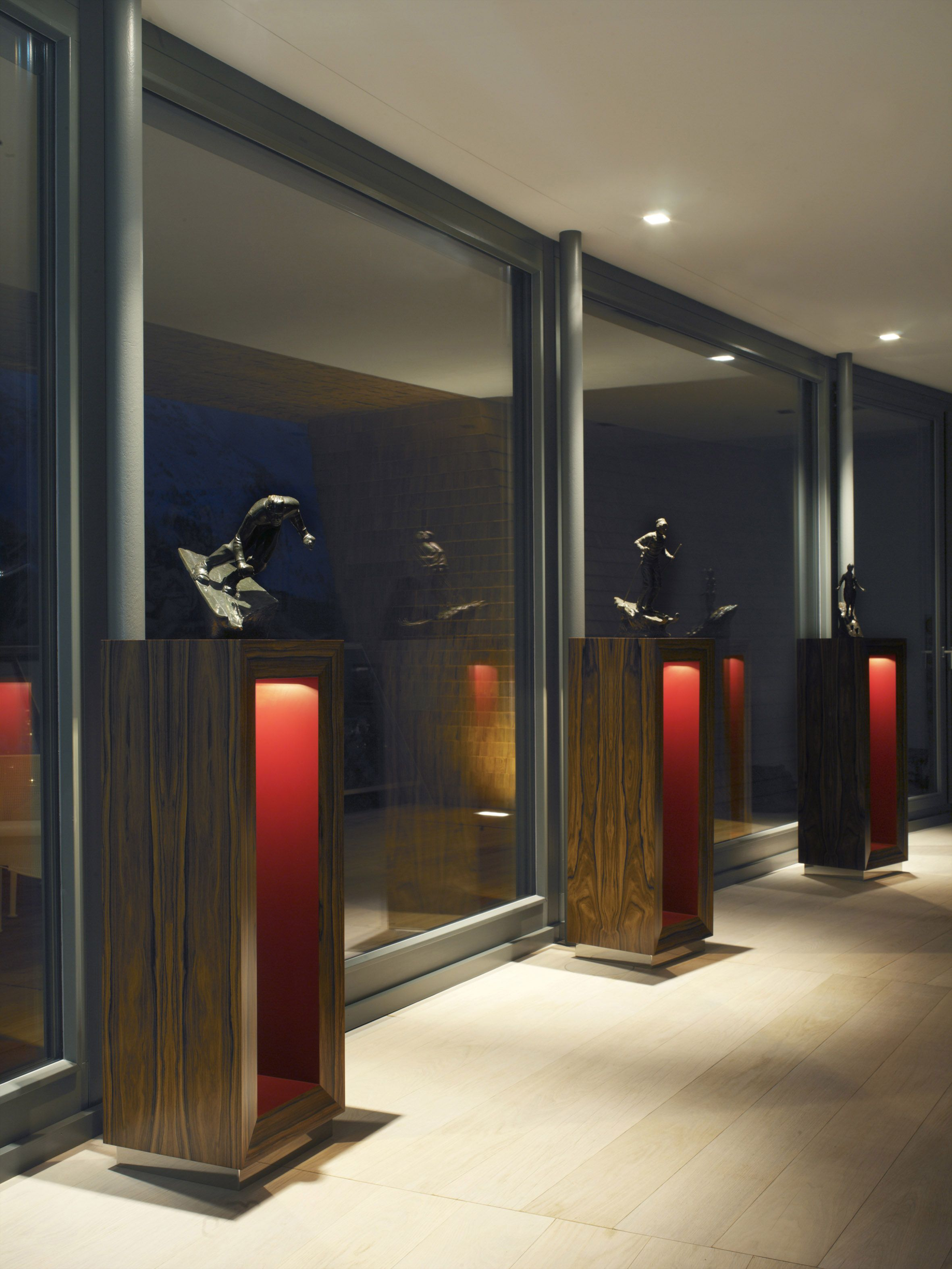 Luxury Chalet Norman Foster St Moritz Switzerland Ski  # Muebles Norman Foster