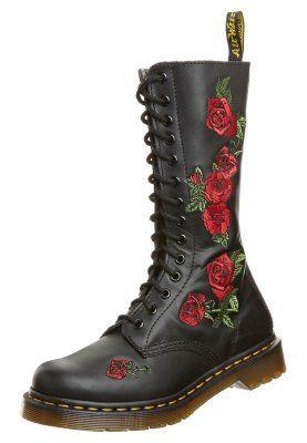 Zapatos negros Dr. Martens Vonda para mujer h57dkH7