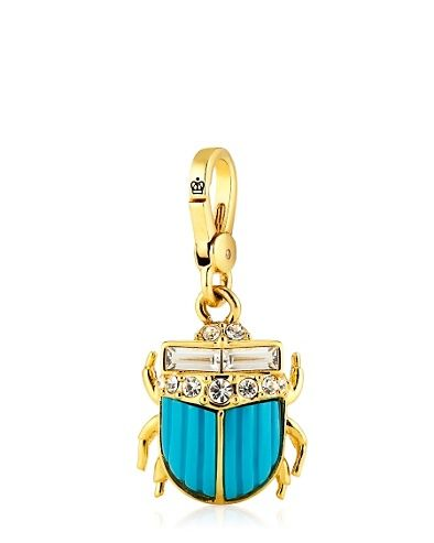 ChARmS❤Juicy Couture Jewelry, Blue Scarab