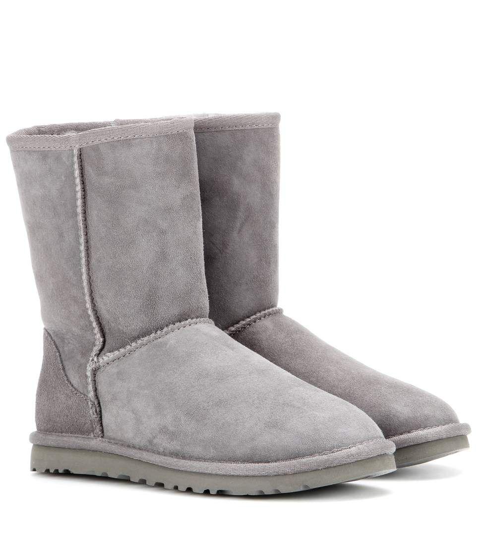 UGG Australia Boots Classic Short · Grey BootiesGrey Ankle ...