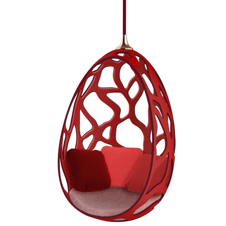 campana cocoon chair for u201cobjets courtesy of louis vuitton