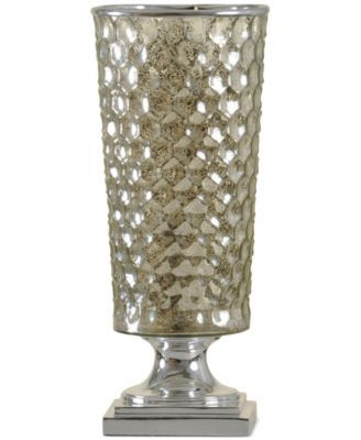 StyleCraft Northbay Mercury Glass Uplight Table Lamp