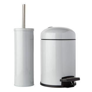 Buy Colourmatch Slow Closing Bin Brush Set Dove Grey At Argos Co Uk Visit Argos Co Uk To Shop Online For Bathroom Bathroom Sets Fittings Home Furnishings