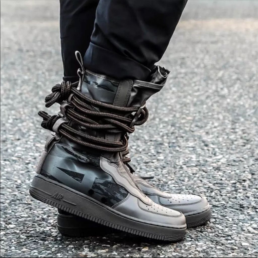 Nike Shoes New Nike Sf Af1 Hi Ridgerock Camo Sneakerboot 9