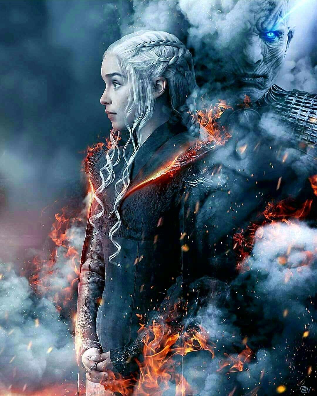 Game Of Thrones Fan Art Daenerys Targaryen Emilia Clarke Game