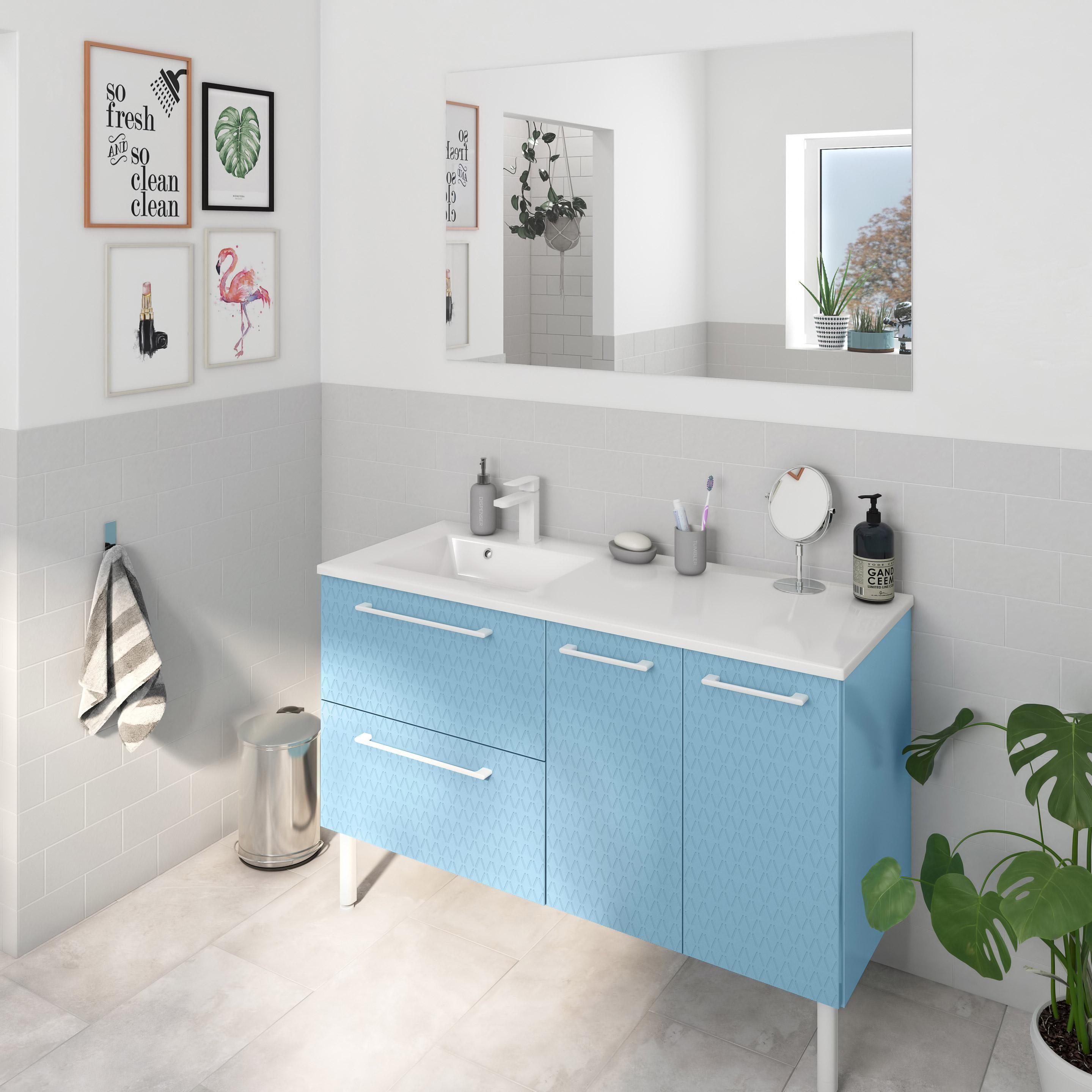 Meuble De Salle De Bains Remix En 2020 Meuble Simple Meuble Sous Vasque Et Salle De Bain