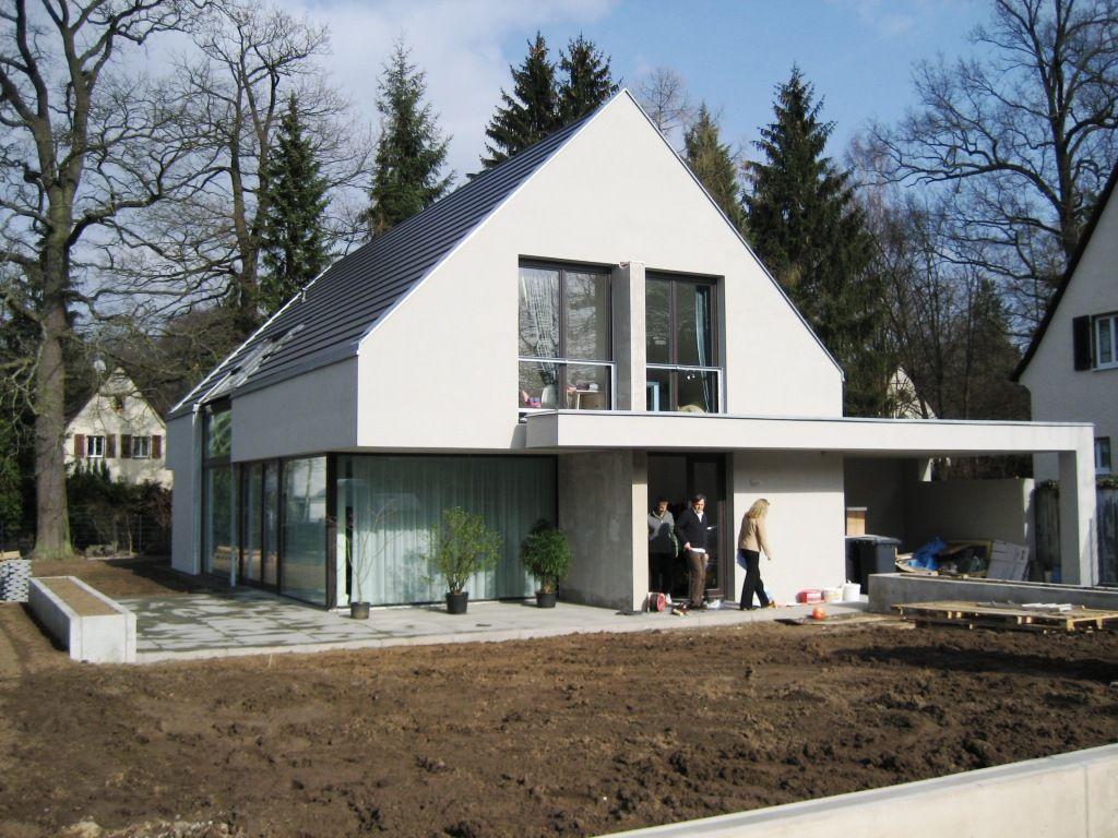Moderne Satteldachhäuser modernes satteldachhaus moderne häuser