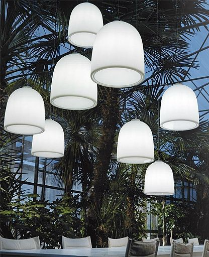 Campanone outdoor pendant light Outdoor pendant lighting