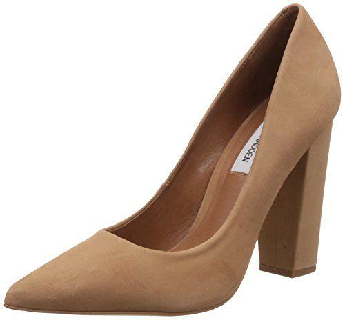 Steve Madden Women's Primpy Dress Pump Camel Nubuck Size 6.0