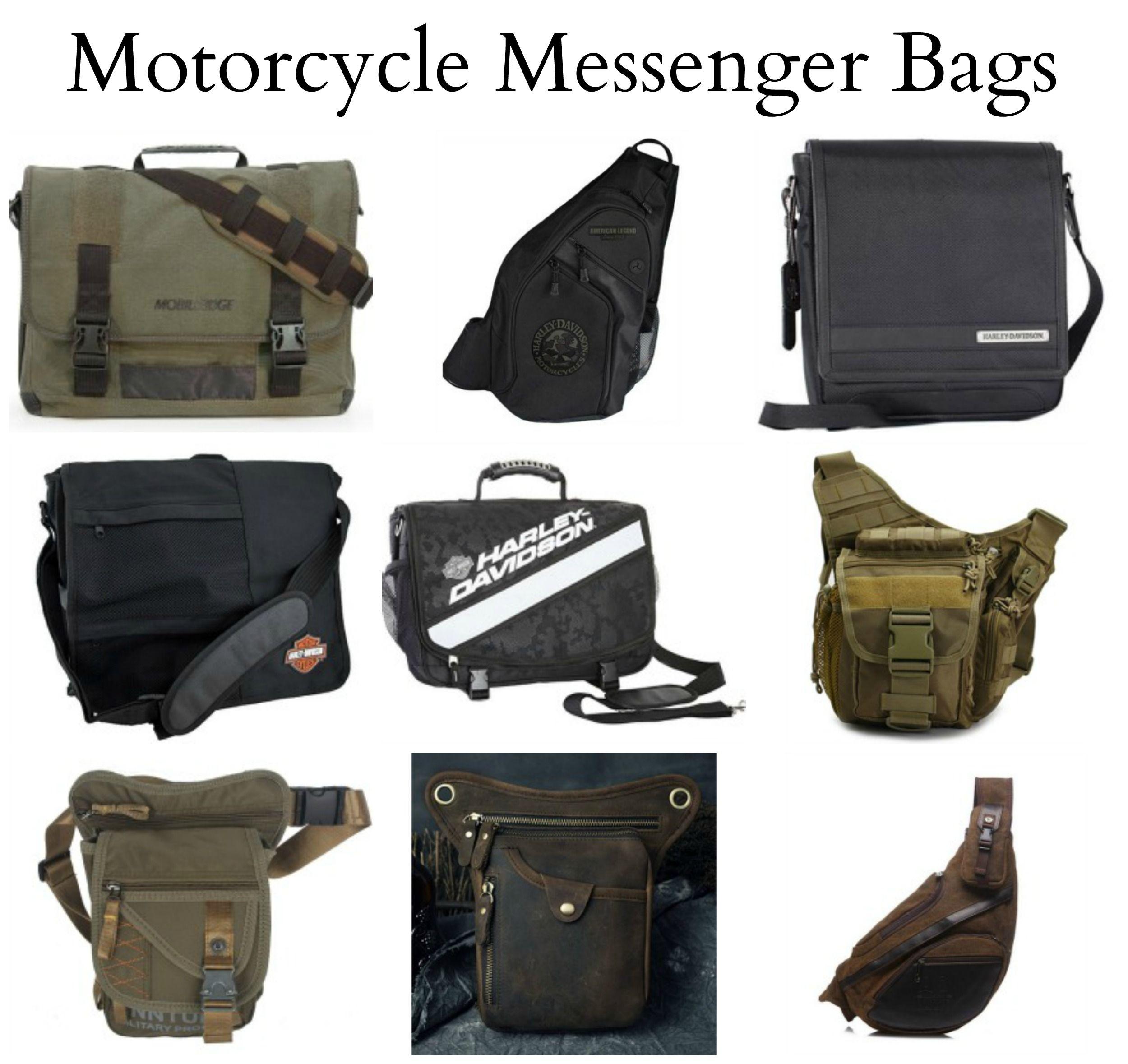 Motorcycle Messenger Bags For Men