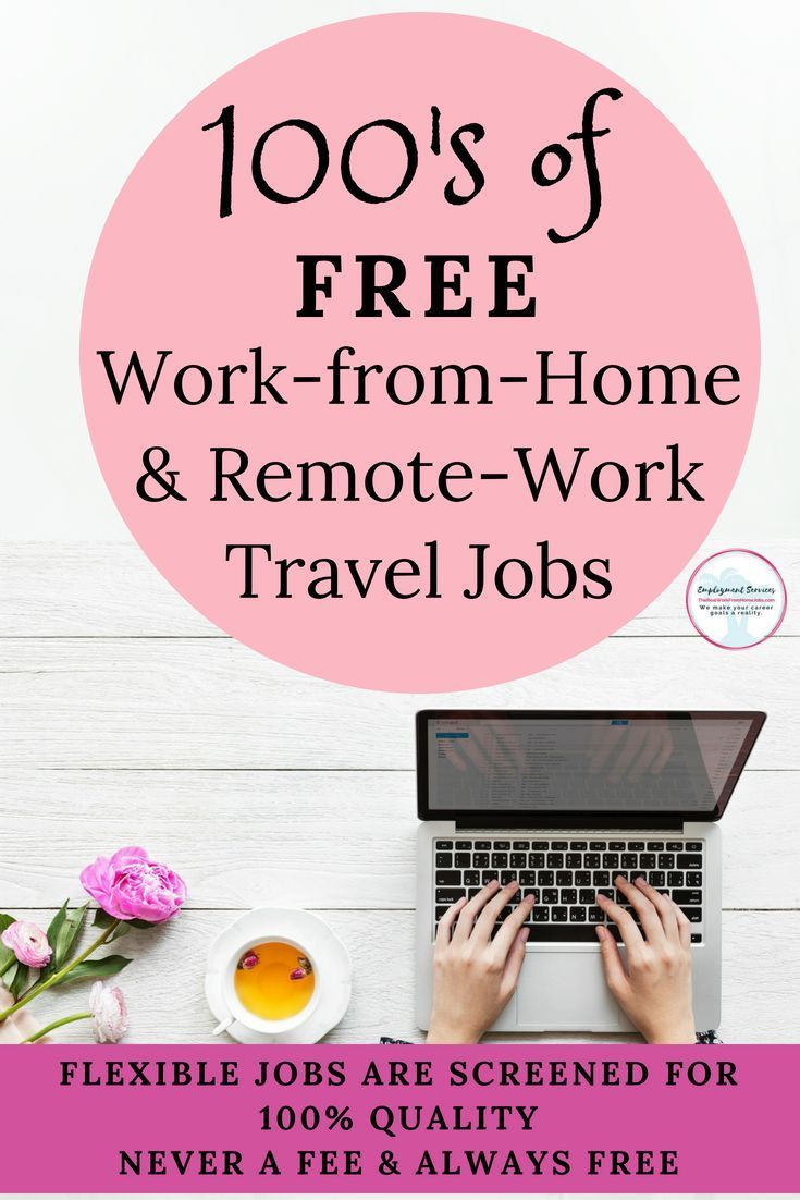 Work from home for free no fees