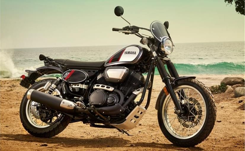 Yamaha has unveiled the new 2017 SCR950 Scrambler motorcycle as part