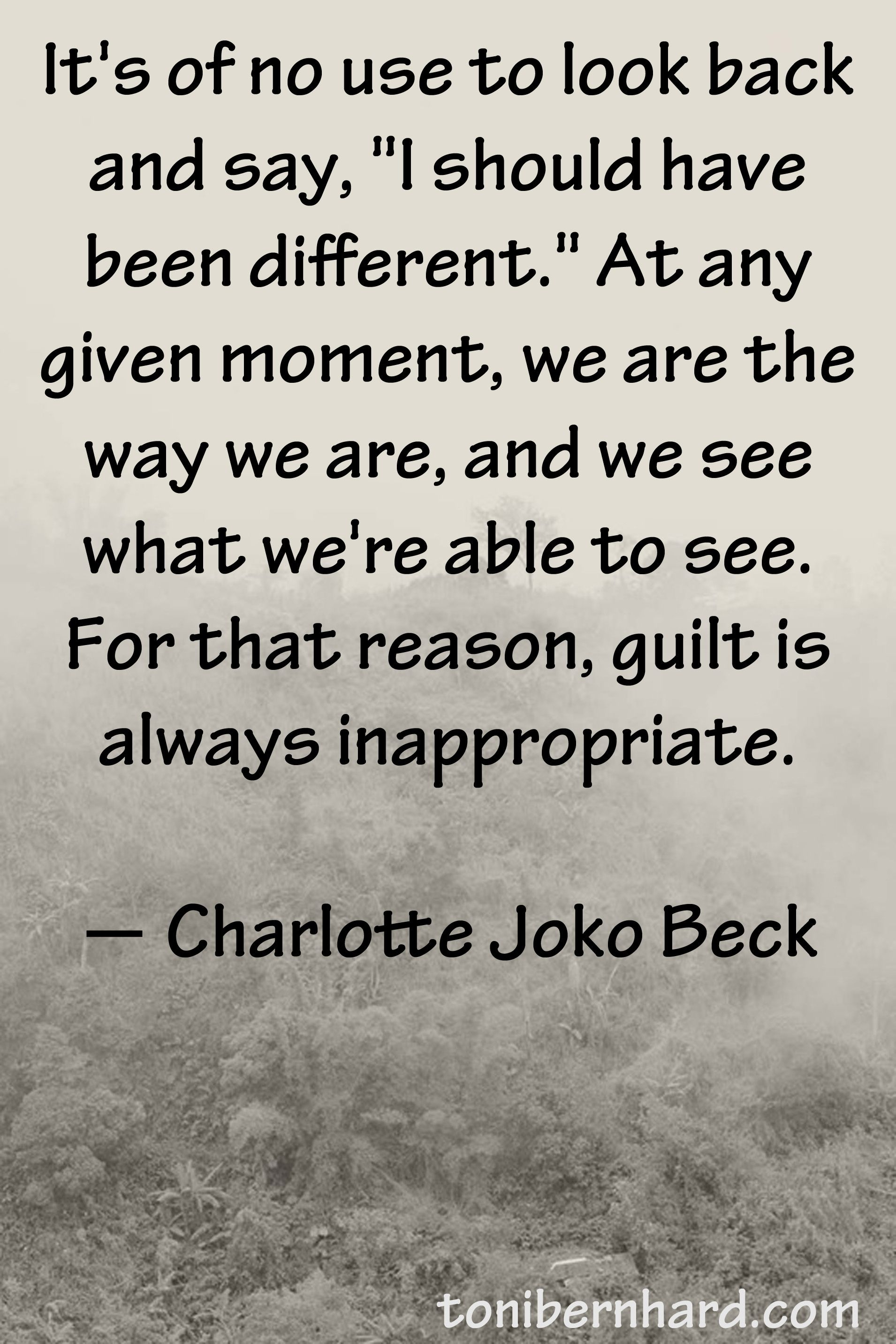Love And Faith Quotes Zen Teacher Charlotte Joko Becki Love Her Books Personal