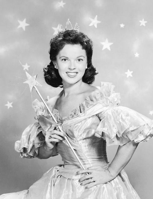 Promotional portrait for Shirley Temple's Storybook, 1958.
