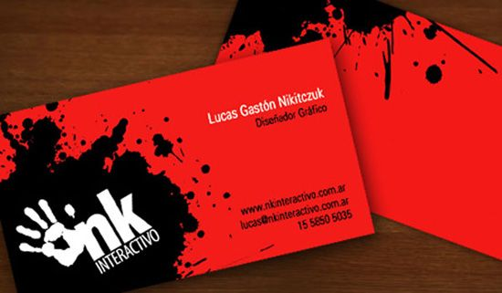 Red Business Cards Design Unique Business Cards Design Pinterest