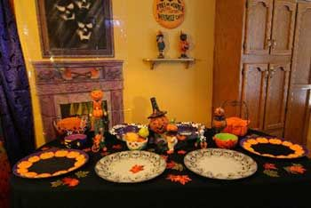 Fall Buffet Table Decorating Ideas Buffet Table For A