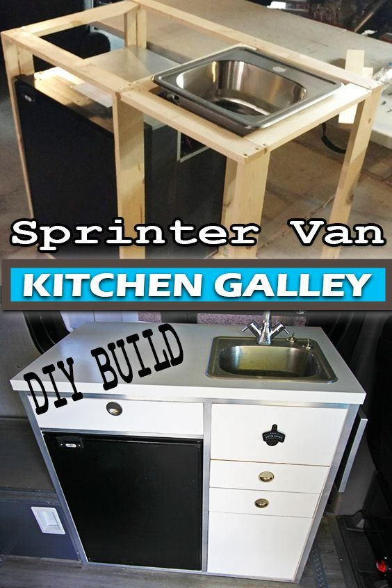Photo of DIY Sprinter campervan kitchen #vanlife #vanbuild #sprintervan