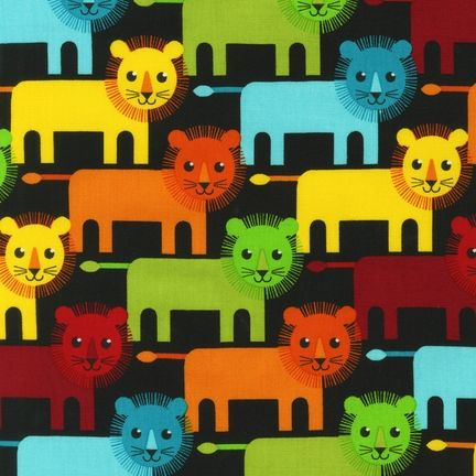 APP-12521-195 by Print & Pattern from Roar!: Robert Kaufman Fabric Company