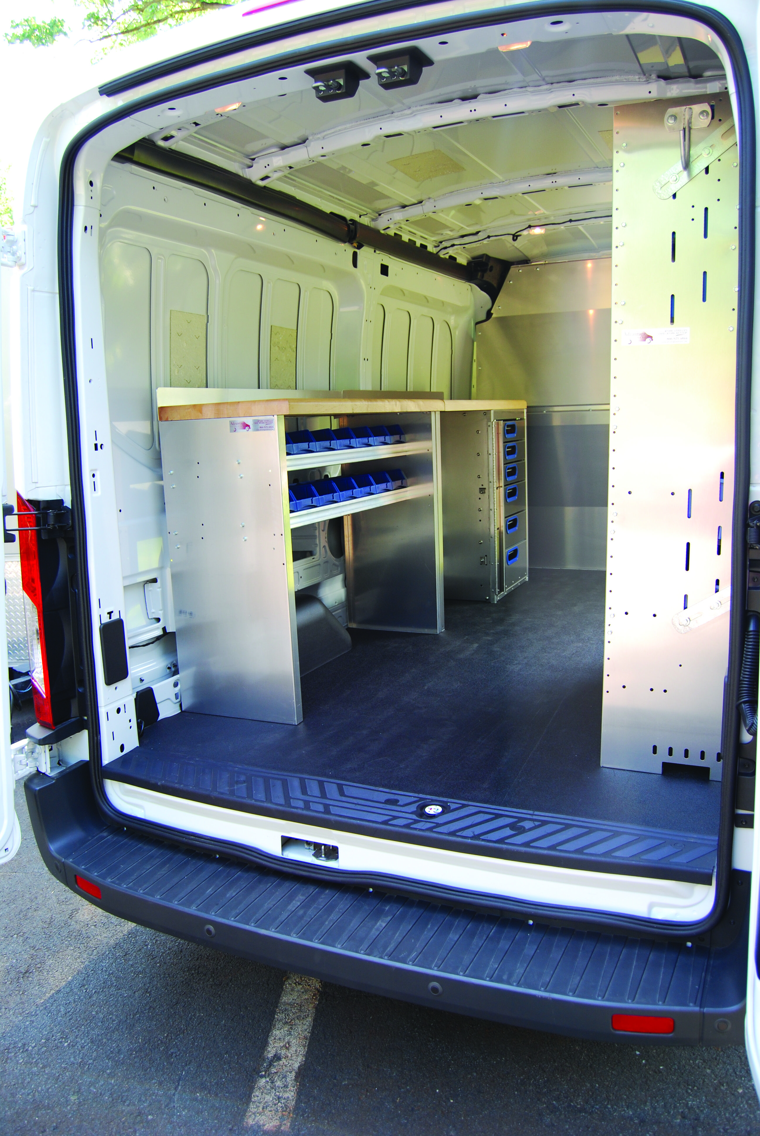 Commercial Van Shelving Interiors Van Shelving And