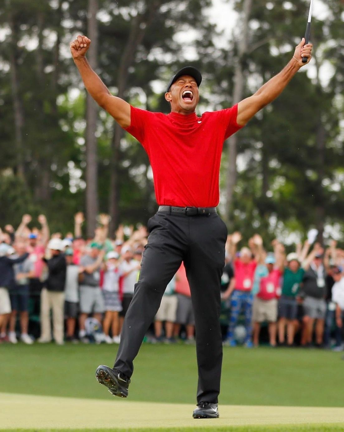 Tiger Woods Is A Legend This Is A Picture Taken This Last April