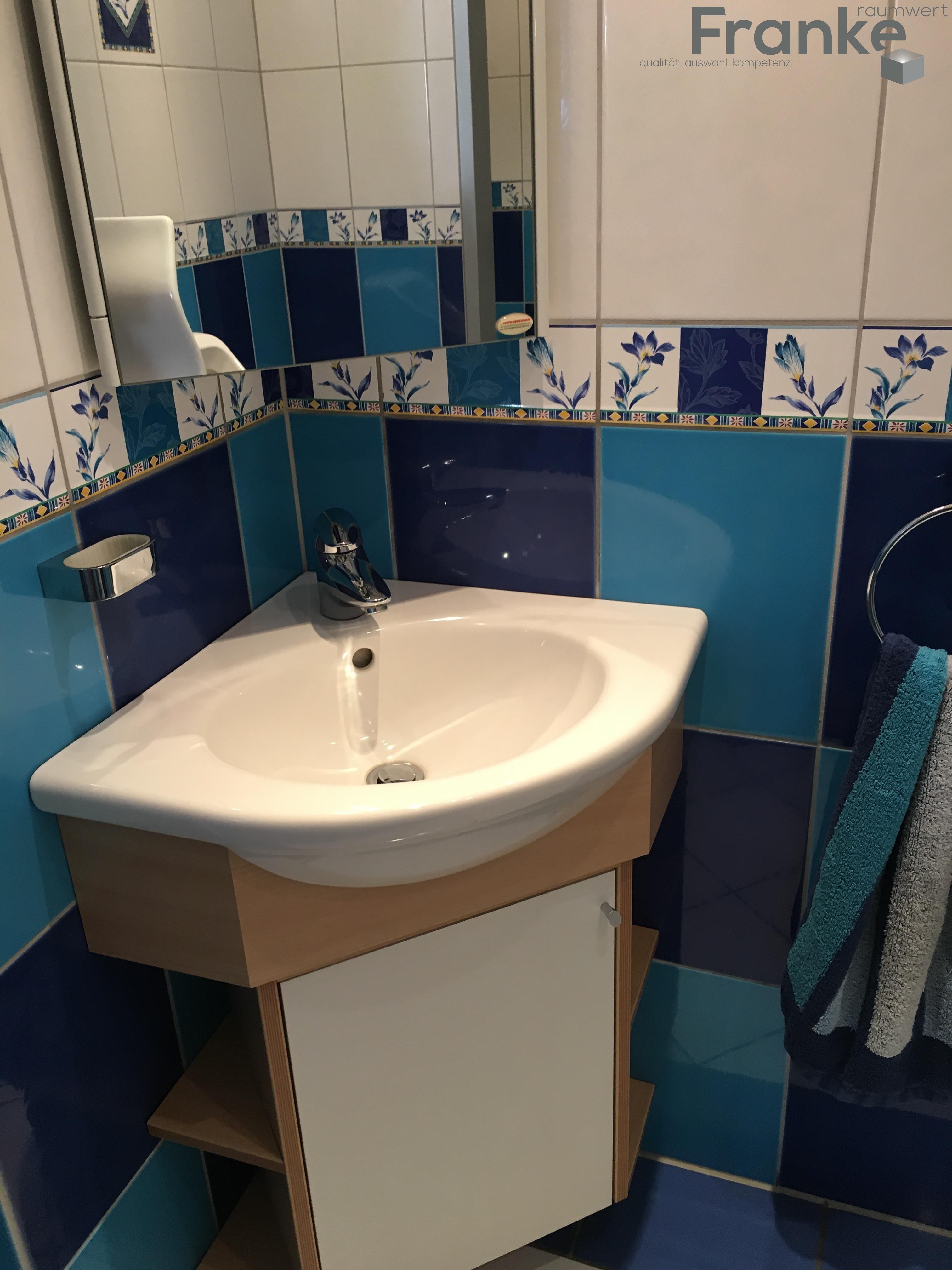 Fliesen Franke Menden farben im frischlook gäste wc franke raumwert de gästewc