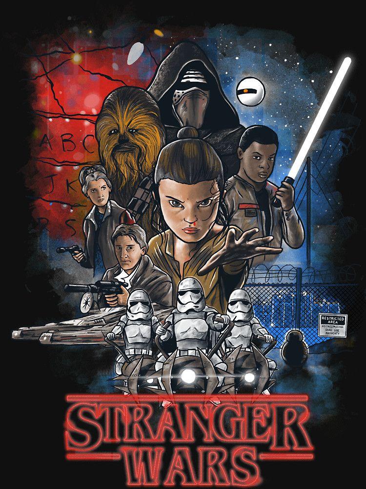 Stranger Things + Star Wars: The Force Awakens