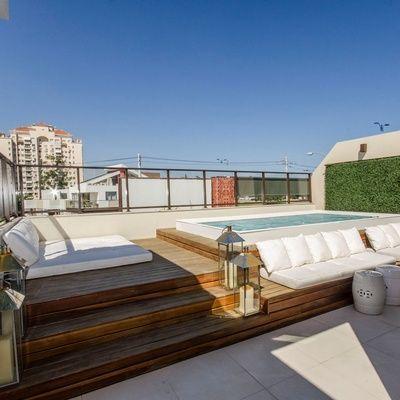 Verwonderlijk Inspiration for roof terrace with jacuzzi or swimming pool RV-17