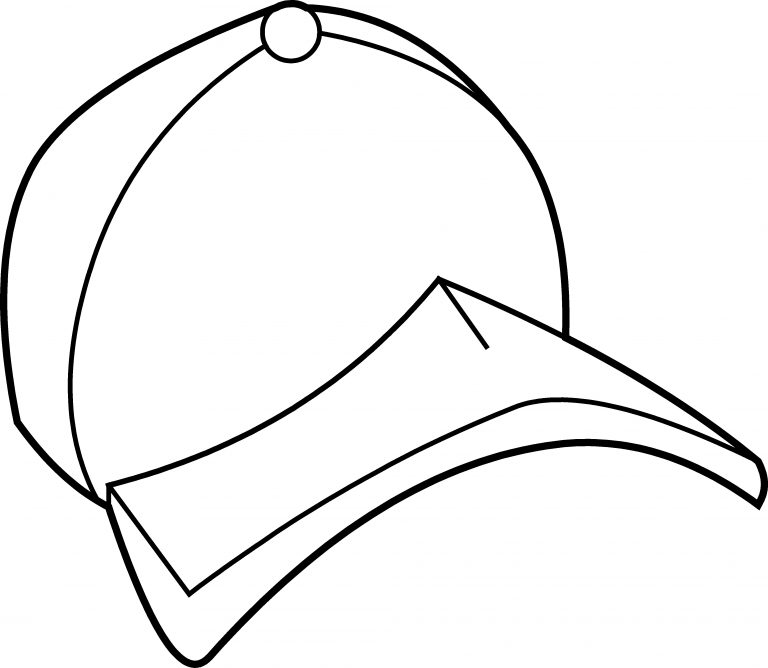 Hat Coloring Pages Best Coloring Pages For Kids Coloring Pages For Kids Sports Coloring Pages Baseball Coloring Pages
