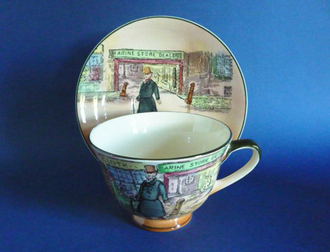 Image Detail for - ... cup and saucer d6327 c1949 sold an unusual royal doulton dickensware a